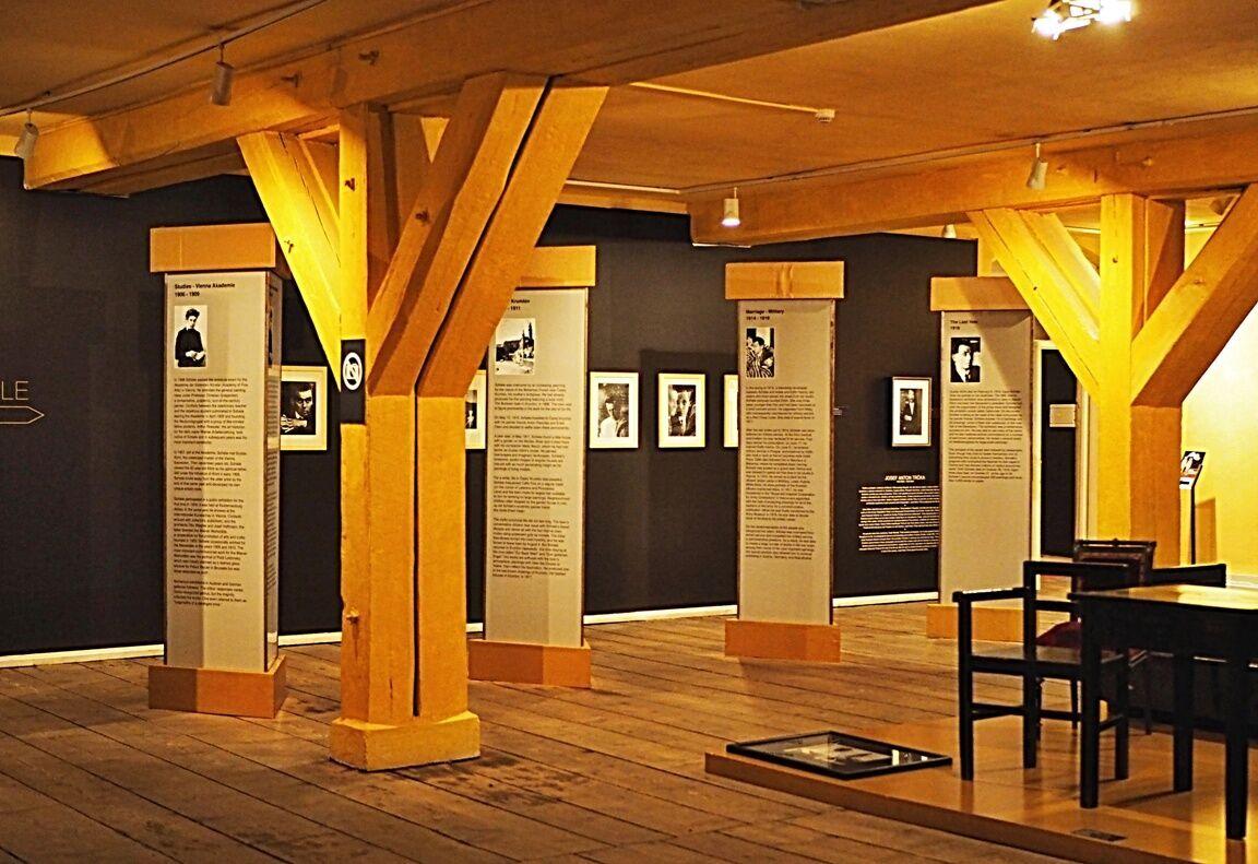 Schiele - stálá výstava