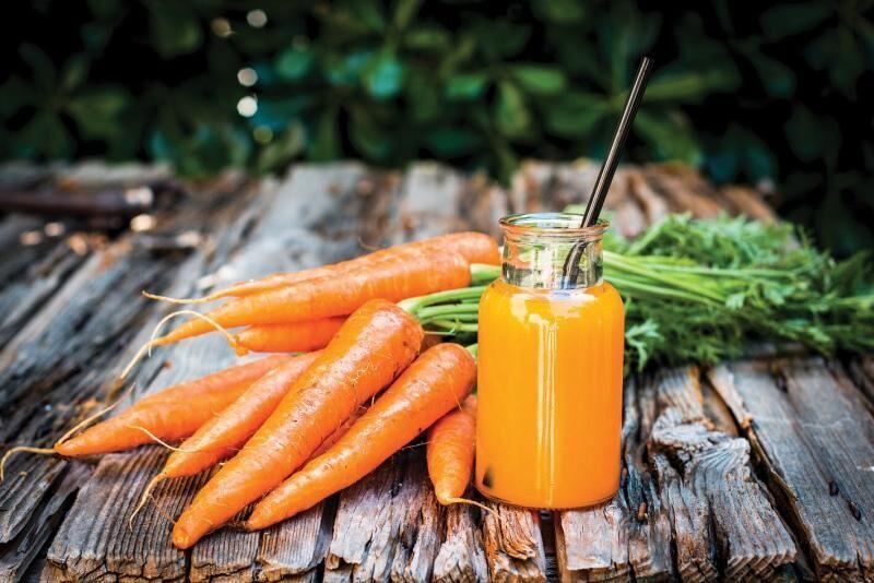 mrkvový sirup
