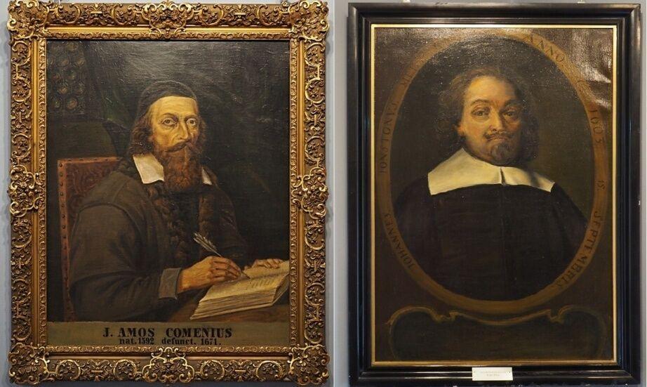 Lešno-portréty v Muzeu