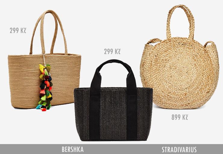 Větší rozměry kabelek nebo slaměné batůžky si hodí spíše na víkendové  pobíhání po městě nebo třeba do školy. 92edf403597