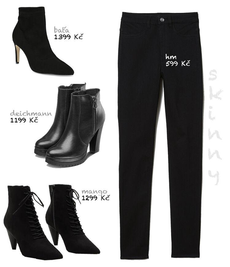ŽENA-IN - Džíny a kotníčkové boty. Volte ty správné kombinace! a4d8fed4bef