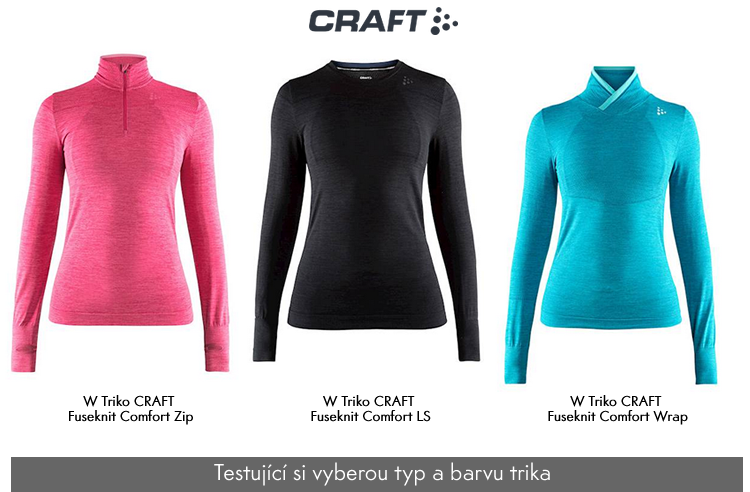 ŽENA-IN - Pojďte s námi testovat Triko CRAFT Fuseknit Comfort! 2f5f6d4d0f