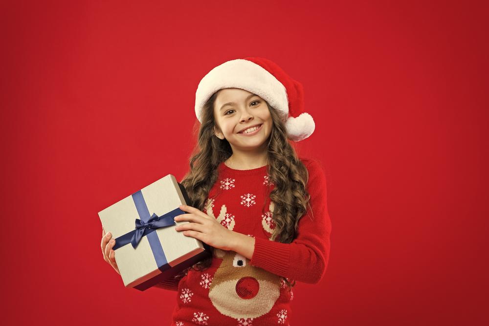 Vánoční dárek dívka z roku 2 měsíce